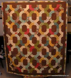 Urban Cowgirl Quilt by peachykeenquilts, via Flickr