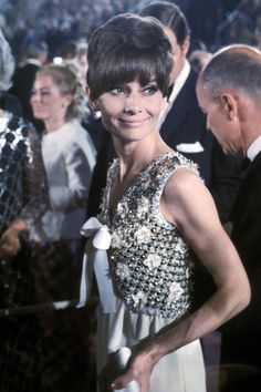 1975 Audrey Hepburn in Givenchy