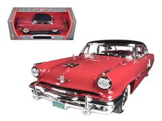 1952 Lincoln Capri Burgundy 1/18 Diecast Car Model by Road Signature