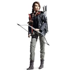 Katniss Everdeen Barbie Doll ~ Released 08/2012...  Got this one for Eden for when she's (way) older lol. It'll be a nice collector's item one day :)