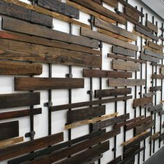 40 Stunning Wood Wall Art Ideas For Home Decoratio - Murales Pared Exterior Reclaimed Wood Wall Art, Salvaged Wood, Wood Art, Repurposed Wood, Wood Wall Decor, Recycled Wood, Diy Wall, Outdoor Wall Art, Outdoor Walls