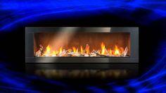 Long Gas Fireplace insert LHD62
