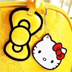Yellow Loungefly Hello Kitty Purse