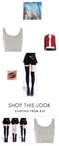 """""""First Date with Saikou"""" by maryvarleyrox ❤ liked on Polyvore featuring Topshop and Yves Saint Laurent"""