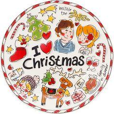 Blond Amsterdam Ontbijtbord Kerst Rendier
