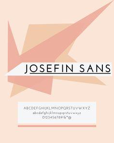 Josefin Sans Google Web Font for Blogs + websites, typography, graphic design, web fonts, fonts
