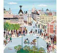 4 dias en madrid, laura esteban, ilustraciones, libro