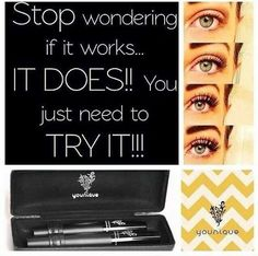 Magic lashes!!! easy application.. no messy glues! makeupfromheather.com #beauty #mascara #younique #makeupfromheather