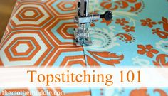 Topstitching 101 Cover