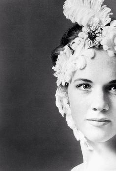 Julie Andrews photographed by Cecil Beatin