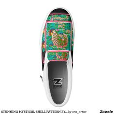 STUNNING MYSTICAL SHELL PATTERN BY ARA ARTIST PRINTED SHOES