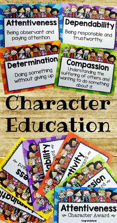 $5.99 Character education is very important, teach your students about positive character traits and improve their behavior in the process. This easy to implement program is perfect for classes (or students) that struggle with social skills. Focus on one character trait per week, use the posters, armbands and awards to motivate your students. Watch behavior improve and emotional intelligence grow! Download at: https://www.teacherspayteachers.com/Product/Character-Education-1814553