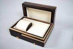 """Caballero""- Macassar Ebony & Brass Gentlemans Box. By Roi Klifi"