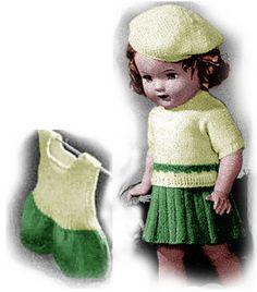 623 Besten Puppenmode Bilder Auf Pinterest Crochet Pattern