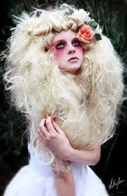 Rain forest Queen editorial hair styling