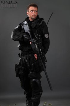 Sniper STOCK XVI by PhelanDavion.deviantart.com on @deviantART