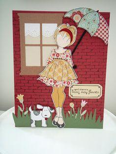 Scrap for Joy: Week 4 in the Julie Nutting for Prima Paper Doll Stamp Blog Hop...Winter