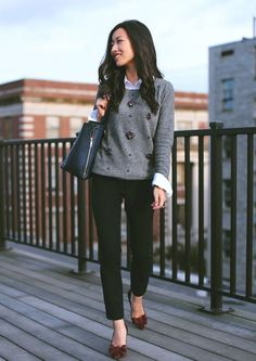 Office Style // Amazing layers for fall workwear attire.