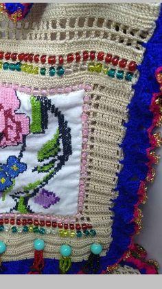 Single Crochet Stitch, Crochet Stitches, Blanket, Crochet Pouch, Bags, Manualidades, Blankets, Crochet Tutorials, Cover