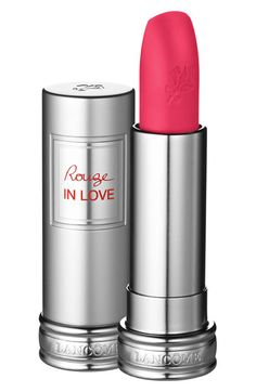 Lancôme 'Rouge in Love Tonight is My Night' Lipstick available at #Nordstrom  The color Fiery Attitude is the best statement lip color i've ever put on my lips!! It is a fantastic fall lip color!! The best deep plum color ever!!