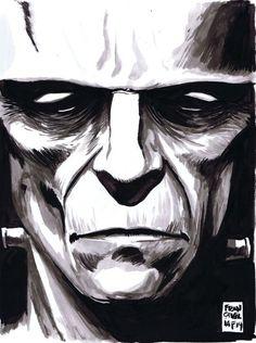 Frankenstein's Monster - Francesco Francavilla