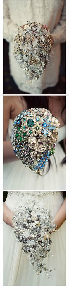 This is such a unique idea, a bouquet you can keep forever!