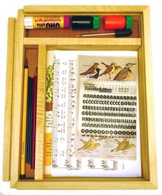A prototype for a surrealist drawing kit