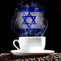 Coffee Israel flag