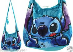LILO AND STITCH HAWAIIAN SKETCH HOBO BAG PURSE TOTE - DISNEY- NEW FREE SHIP