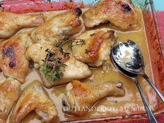 Outlander Recipe - Scottish Honey Mustard Chicken