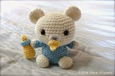 2000 Free Amigurumi Patterns: Crochet Pattern: Lil' Baby Bear