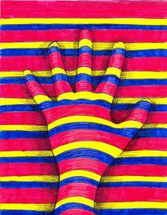 El calcetín perdido: Elementos del arte con las manos