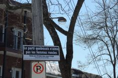 Le parti québécois n'aiment pas les femmes rondes. Votez pour José Breton dans Jean Lesage