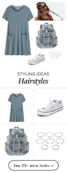 """Без названия #317"" by my-lovely-life on Polyvore featuring Converse, Toast and Forever 21"