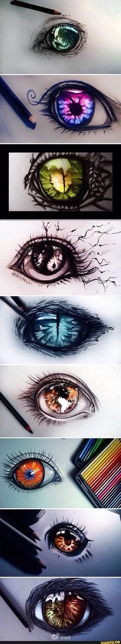Morgen's eyes (top image)