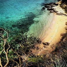 sandy beache- Rab, Croatia