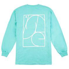 Isle Skateboards Jigsaw L/S T Shirt in Celadon