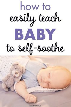 Baby or newborn can't sleep? Learn as a first time mom or new parent how to teach your baby to self-soothe and not cry it out. Self-soothe newborn the easy way. baby breastfeeding baby infants baby quotes baby tips baby toddlers Babies First Year, First Time Moms, New Parents, New Moms, Get Baby, Fantastic Baby, After Baby, Newborn Care, Pregnancy