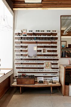 Warby Parker showroom at Apartment Number 9 Chicago, IL (http://warby.me/C7PK1) Photo by Collin Hughes