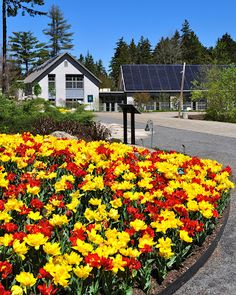 The Front of the Bosarge Family Education Center at the Coastal Maine Botanical Gardens #1