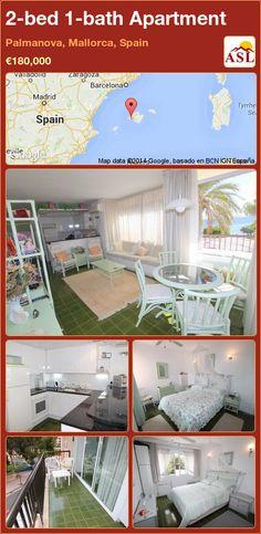 2-bed 1-bath Apartment in Palmanova, Mallorca, Spain ►€180,000 #PropertyForSaleInSpain