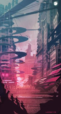 'Future City' by Ken Sarafin