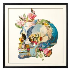 Skull Framed Collage - OKA