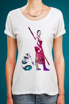 Hey, I found this really awesome Etsy listing at https://www.etsy.com/listing/261762048/star-wars-rey-shirt-bb8-shirt-star-wars