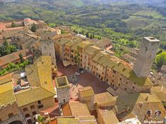 views from the Torre Grossa San Gimignano, Tuscany