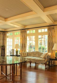 Solarium in President's home © The Gracious Posse