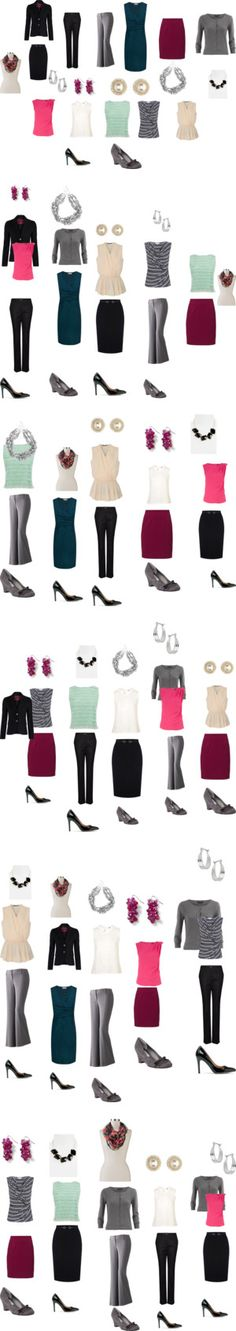 """""""Capsule wardrobe"""" by sm137 on Polyvore"""