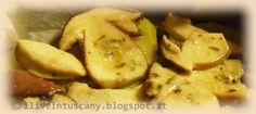 I live in Tuscany: Porcini e patate al forno