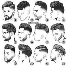 """3,736 Likes, 85 Comments - Haircuts & Hairstyles For Men (@hairstylemens) on Instagram: """"Which one is best ?🔥Leave a comment below 🔝 Tag your friends.. 😍 Cc -------------- Follow :…"""""""
