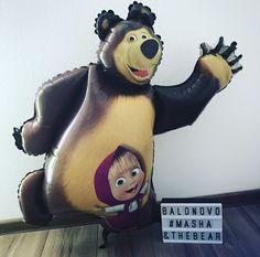 Foil balloon - Masha and the Bear